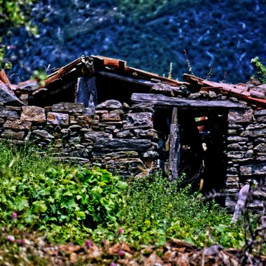A ruined Shack on Samos.