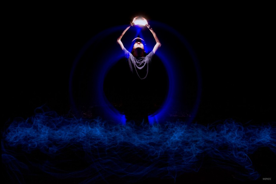Light painting fun