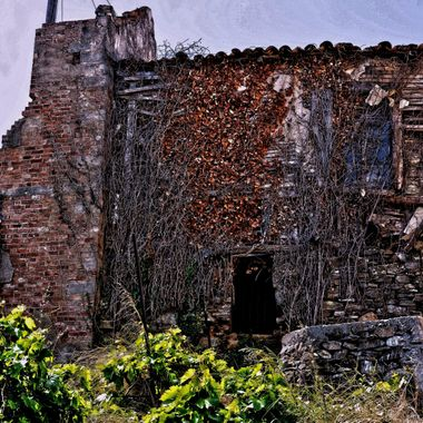 A ruined house on the island of Samos.