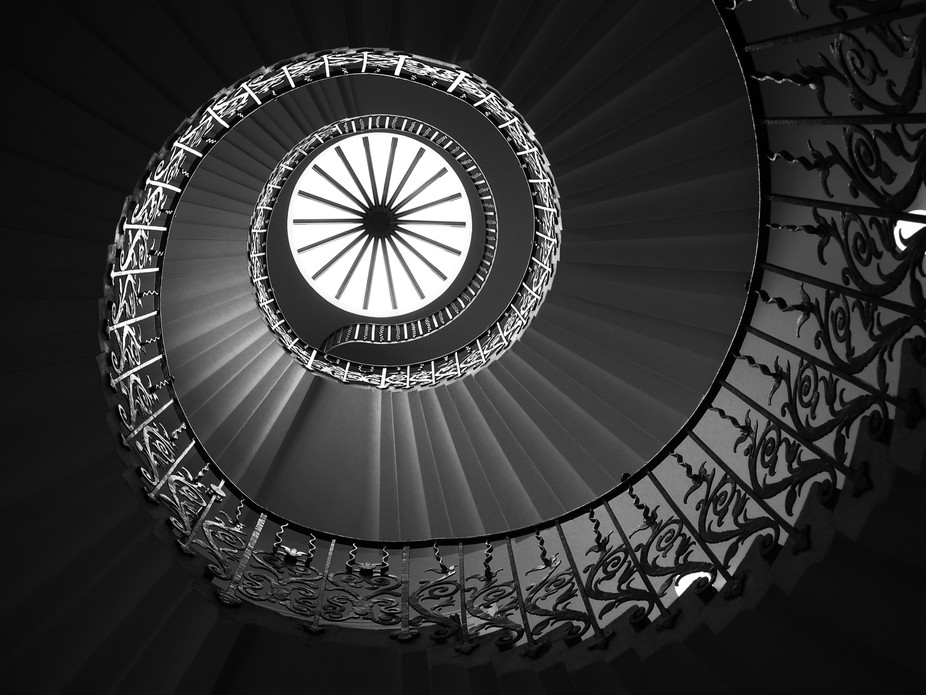 The Tulip Staircase, Queens House, Greenwich