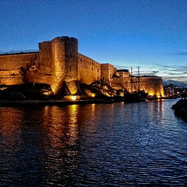 I took this photo when we went to Kyrenia harbour in the year 2014.