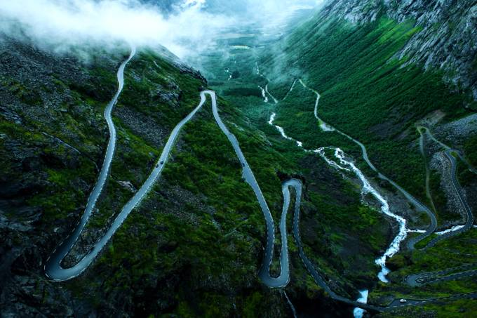 Trollstigen by Signefotar - A Road Trip Photo Contest