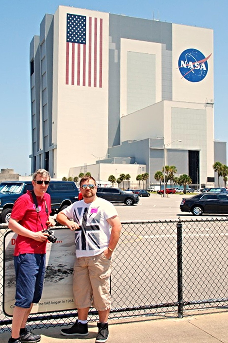 Vehicle assembly building at Kennedy Space Centre Florida