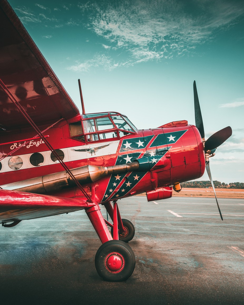 Red Eagle by maperick - Aircrafts Photo Contest