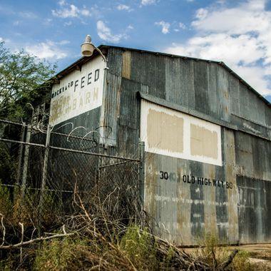 Old Feed Barn - Near Buckeye, AZ.