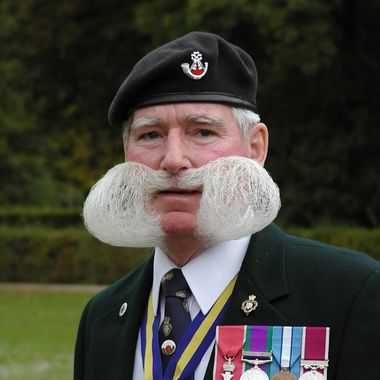 Mr Jim Griffiths MBE in his Legion attire, a great friend!