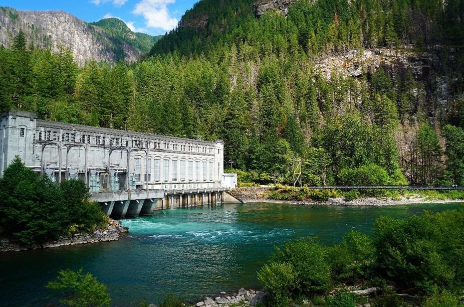 Gorge Dam found in Newhalem, Wa.
