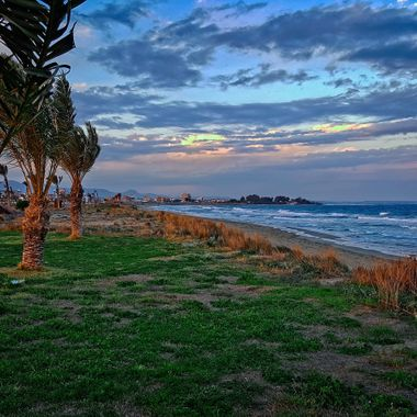I took this photo when we were walking along the beach, in Iskele, Cyprus, 2016.
