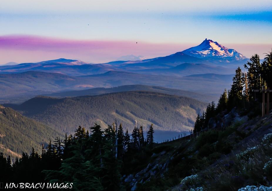 Mt. Jefferson sunset
