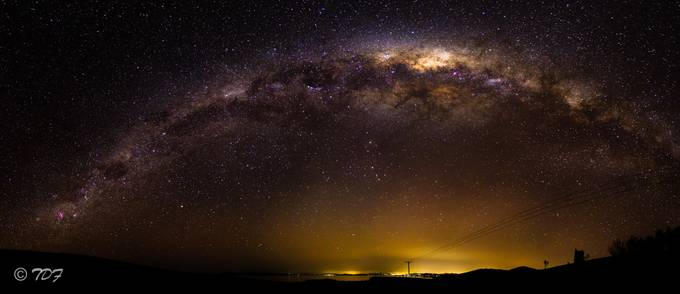 Milky Way Panorama by tobyfrost - Capture The Milky Way Photo Contest