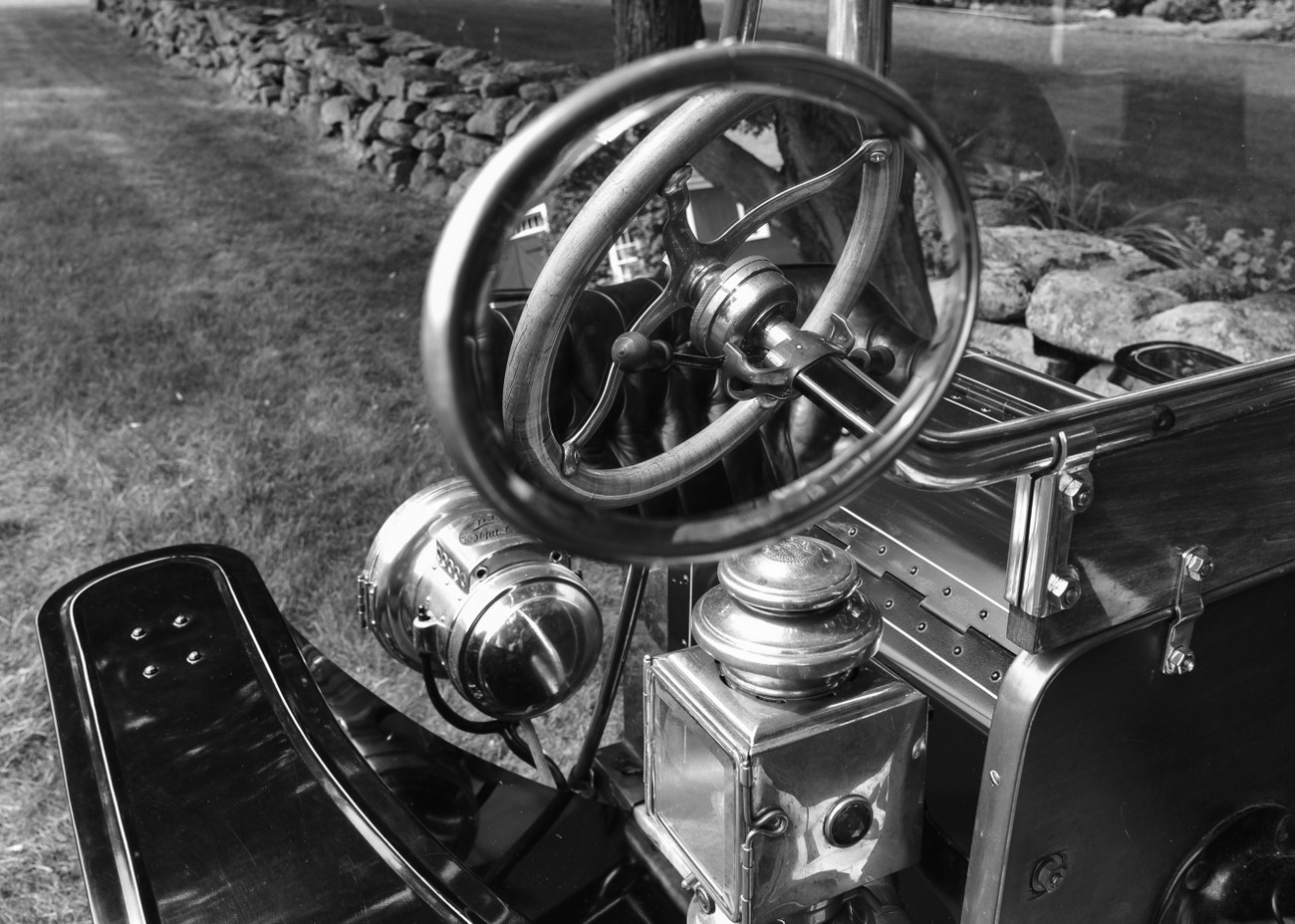 Ford-T details, b&w