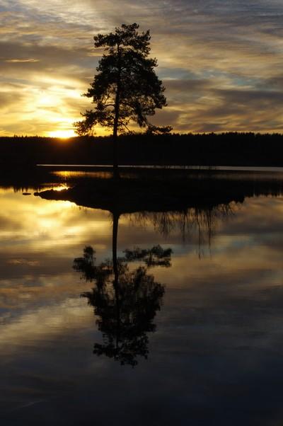 Sunset at Våg, Enebakk, Norway