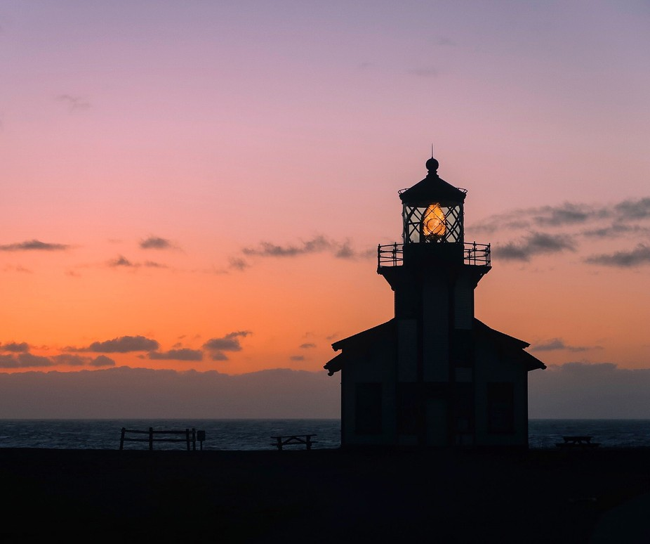 I got to the lighthouse about an hour before peak sunset just to scope out the location ended up ...
