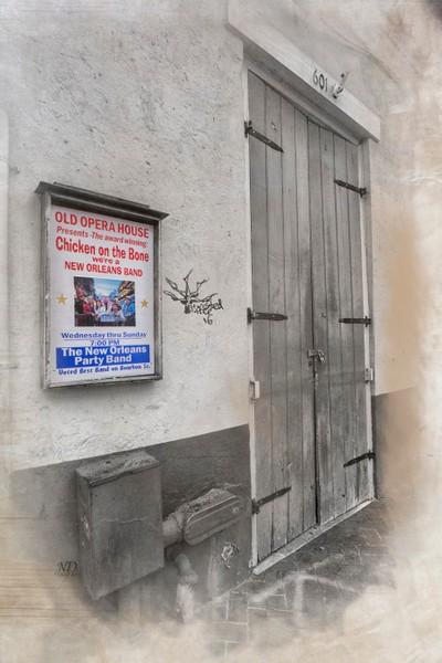 Grunge Doors - Ghost