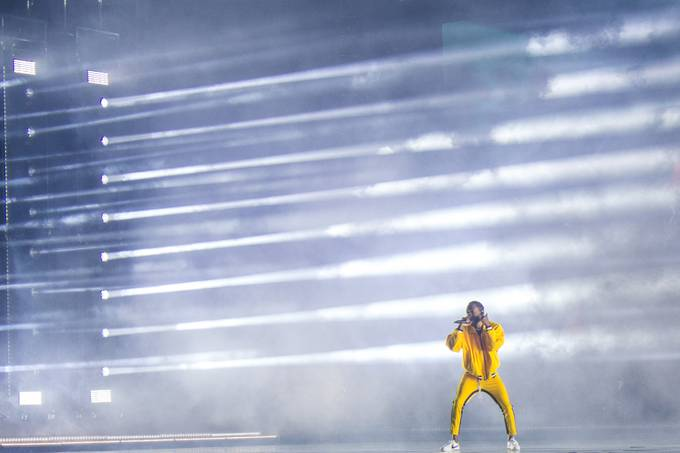 Kendrick Lamar by camgilson - On Stage Photo Contest