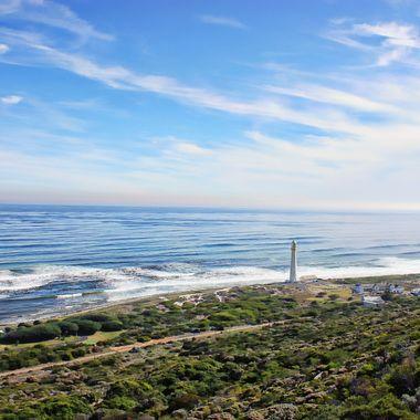 Slangkoppunt lighthouse, Kommetjie, Western Cape