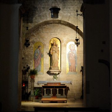 Taken in an Italian church.