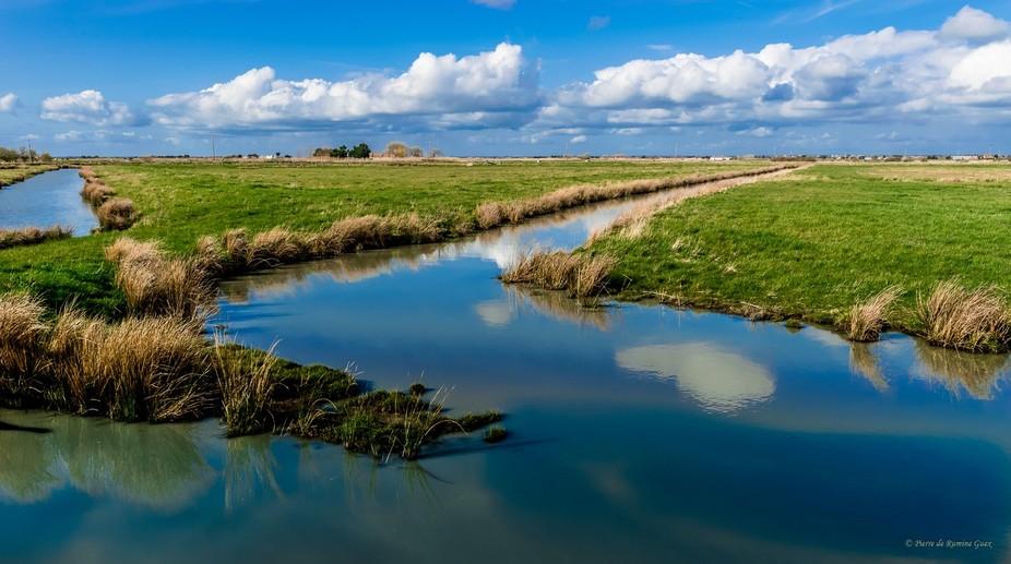 "Visiting the swamps in ""la Vendée"" France"