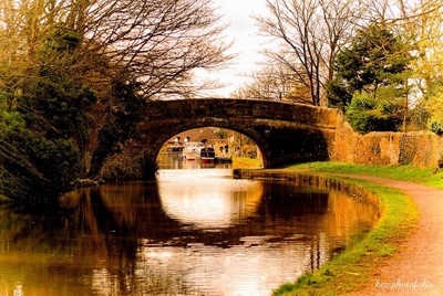 Bridge over Lancaster Canal, Bolton-le-Sands, Lancashire