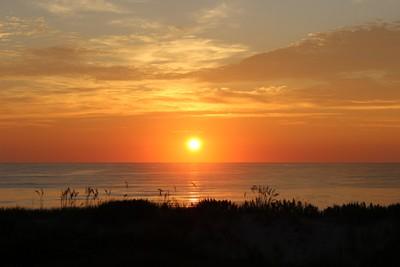 Sunrise over OBX