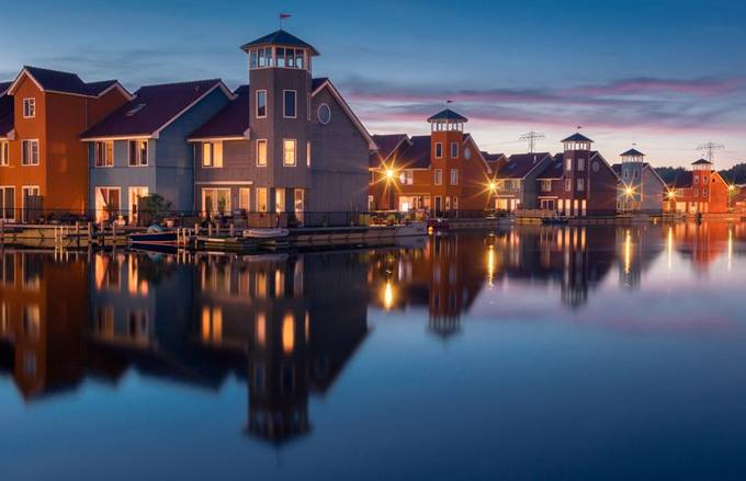 Reitdiephaven, Groningen, The Netherlands by lennartkoopsen - Colorful And Bright Photo Contest