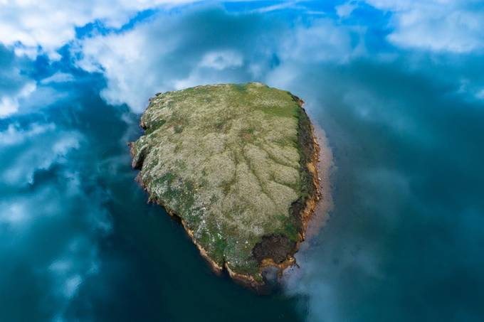 Cloud island by colelmore - Islands Photo Contest