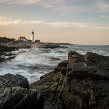 Portland Head Lighthouse in Cape Elizabeth Maine