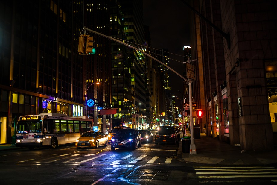 Picture taken in Manhattan, New-York, USA