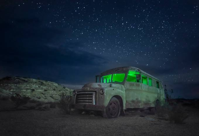 Magic Bus  by toddleckie - Experimental Light Photo Contest