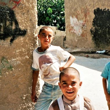 Taken in Deheisha Refugee Camp in the West Bank in 1989
