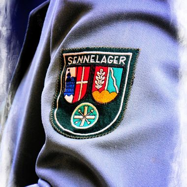 The Sennelager Shooting club Badge which is on their uniforms.