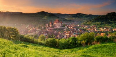 Biertan village, Transylvania, Romania