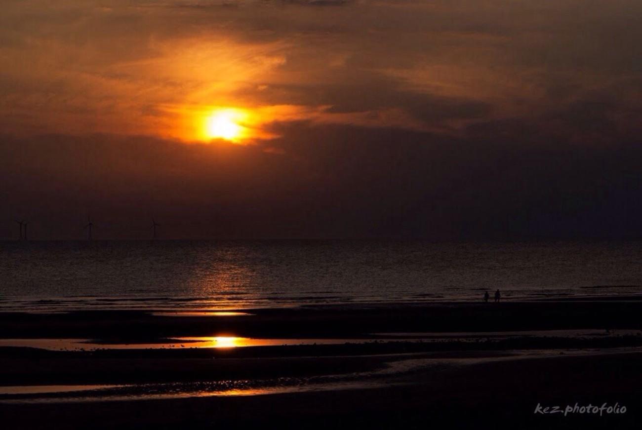 Sunset at Sandy Gap, Walney Island
