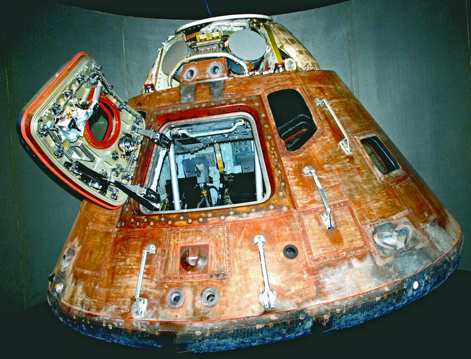 The Apollo capsule that docked with Soyuz 19 in 1975