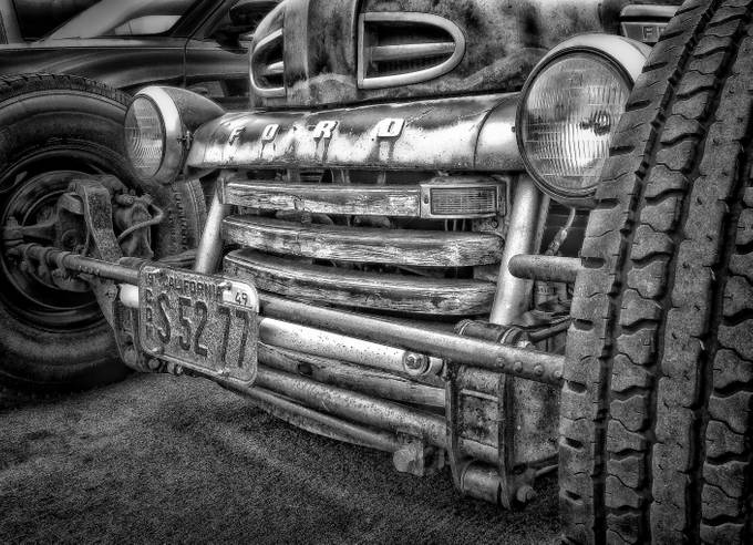 1949 Ford (L1000192) by larrymarshall - Monochrome Creative Compositions Photo Contest