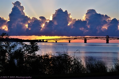 Sunrise over the York River