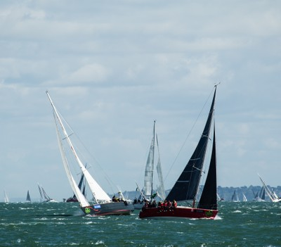 The Start of The Rolex Fastnet Race 2017-5
