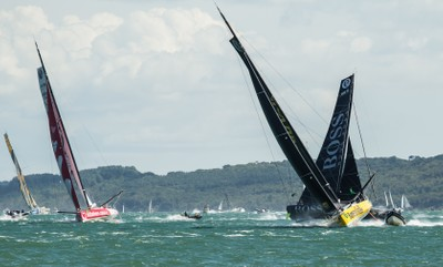 The Start of The Rolex Fastnet Race 2017-25