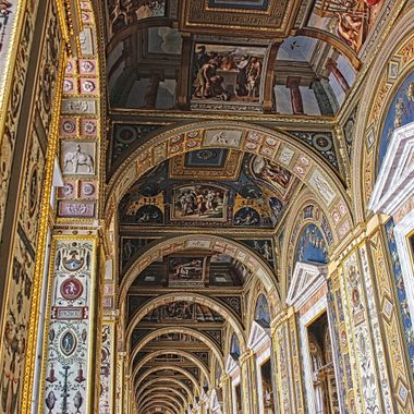 I took this photo when we were on a boat trip in St. Petersburg, Russia, in the year 2013. This photo was taken in the Hermitage Museum.