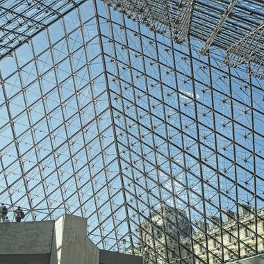I took this photo when we were in Paris, France, in the year 2009. This photo was taken in the Louvre Museum.