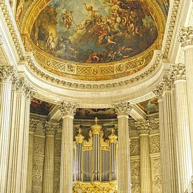 I took this photo when we were in Paris, France in the year 2009. This photo was taken in the Palace of Versailles.