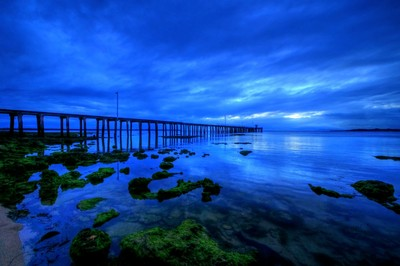 Blue Hour at Point Lonsdale