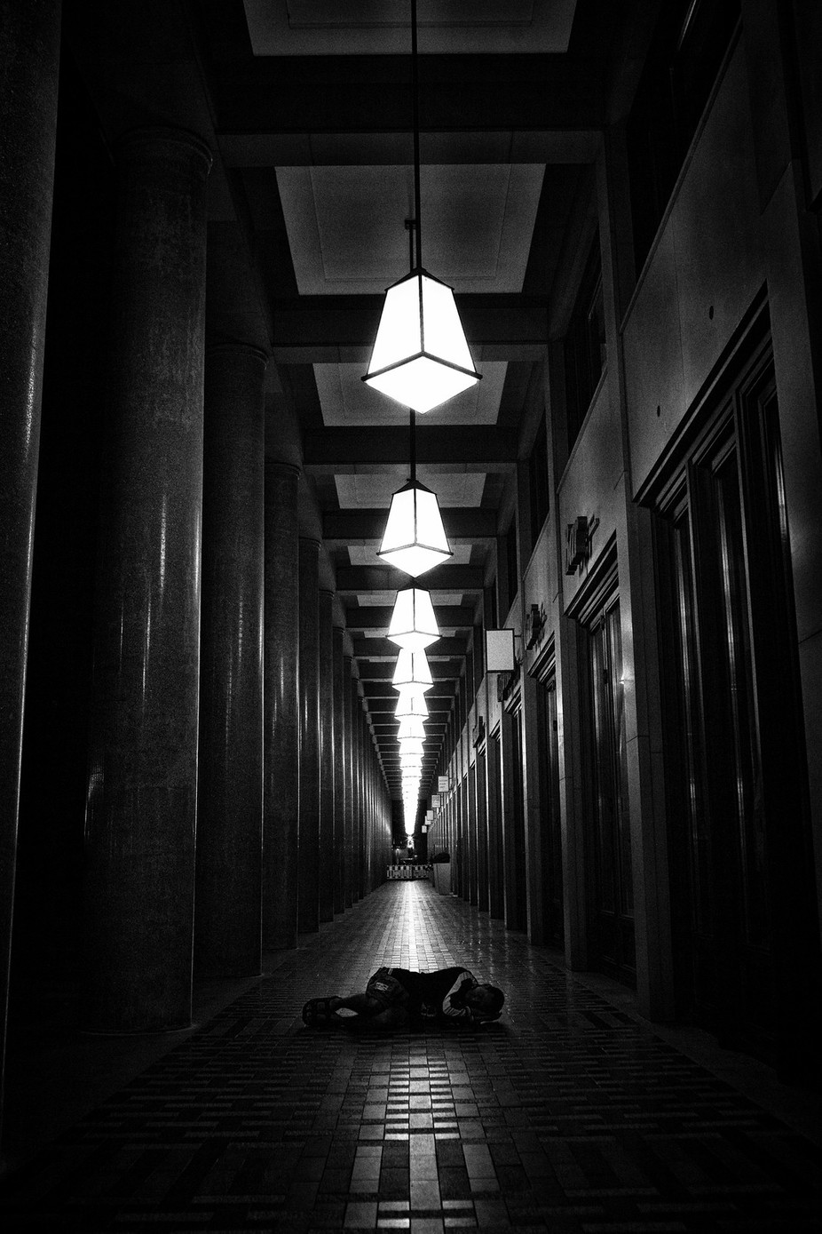 The city of strangers by jevgenijscolokov - Shooting Tunnels Photo Contest