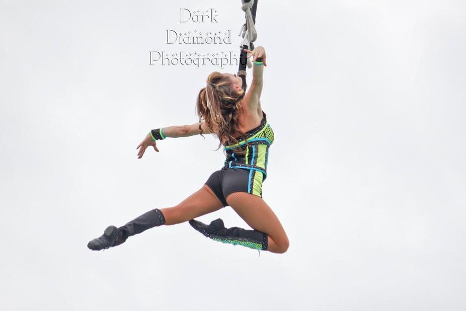 stunt show at kings island