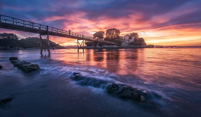 The island Castle by Juliocastropardo - Promenades And Boardwalks Photo Contest