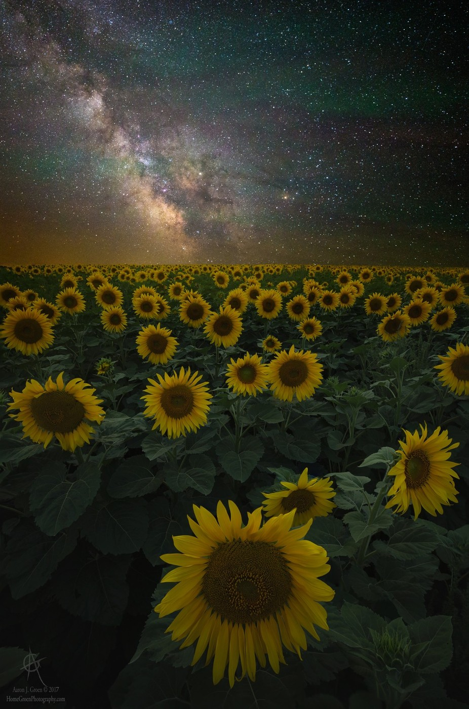 Night of a Billion Suns by aaronjgroen - The Milky Way Photo Contest