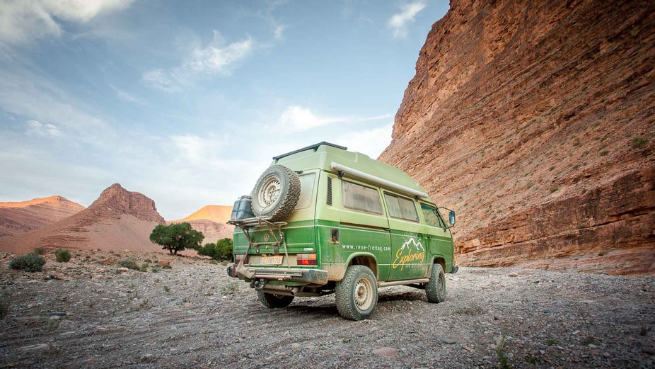 This photo was taken during my three months in morocco with my 4WD van. It was a three day track....
