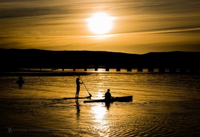 Row into the sun