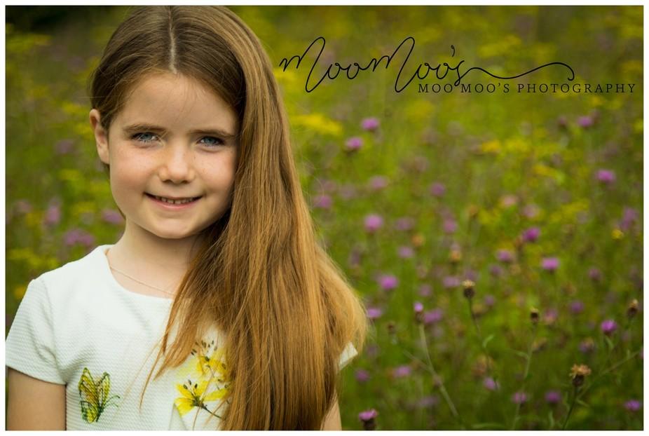 A beautiful little lady