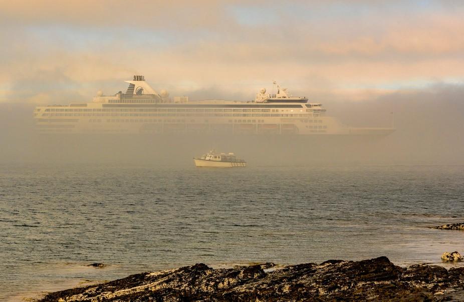 Bar Harbor_Low Level Fog